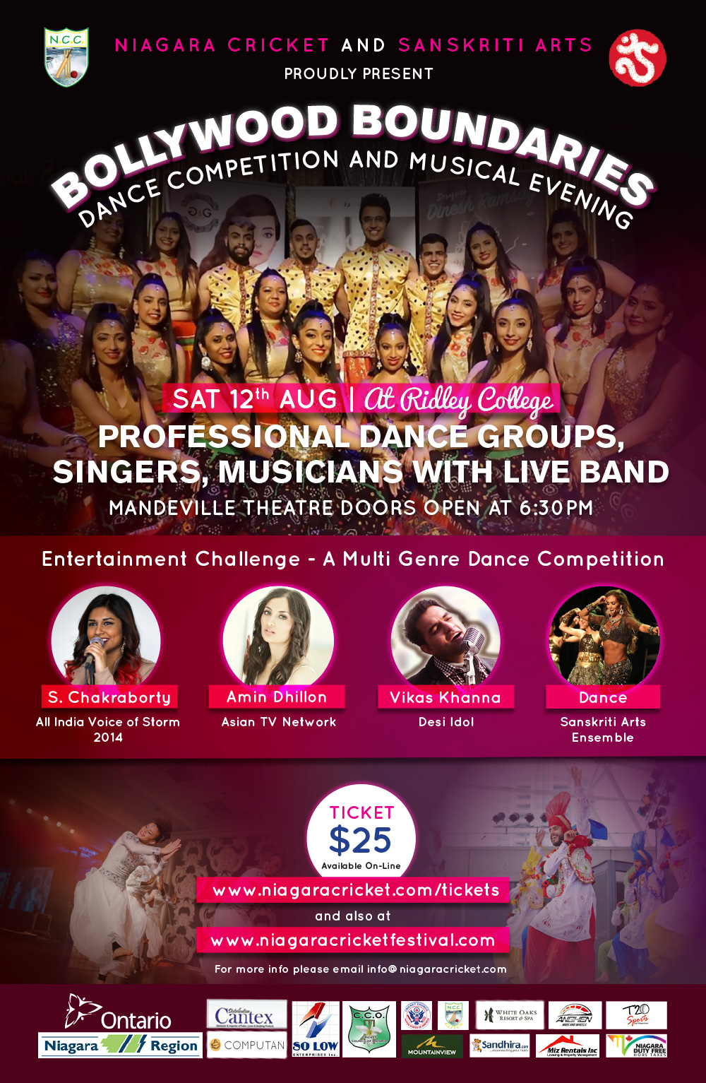 Bollywood Boundaries - Dance and Musical Evening